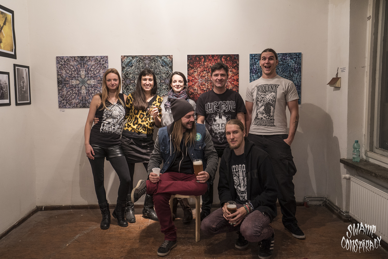 Awesome art people_Art at Berlin Swamp Fest 2015