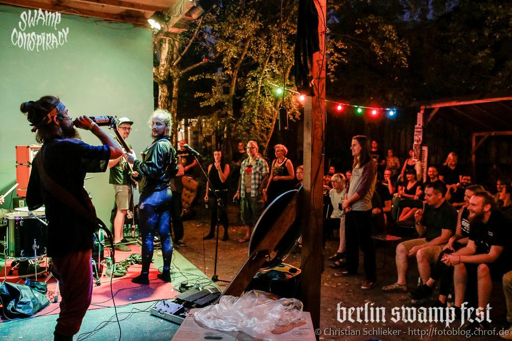 Berlin SwampFest 2016 Friday Downstairs & Garden