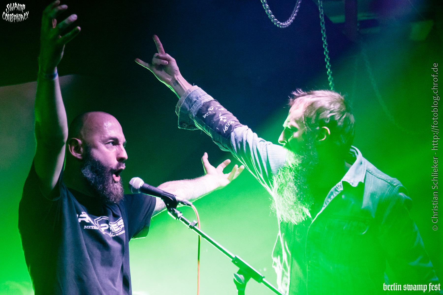 Berlin Swamp Fest 2017 Friday Upstairs