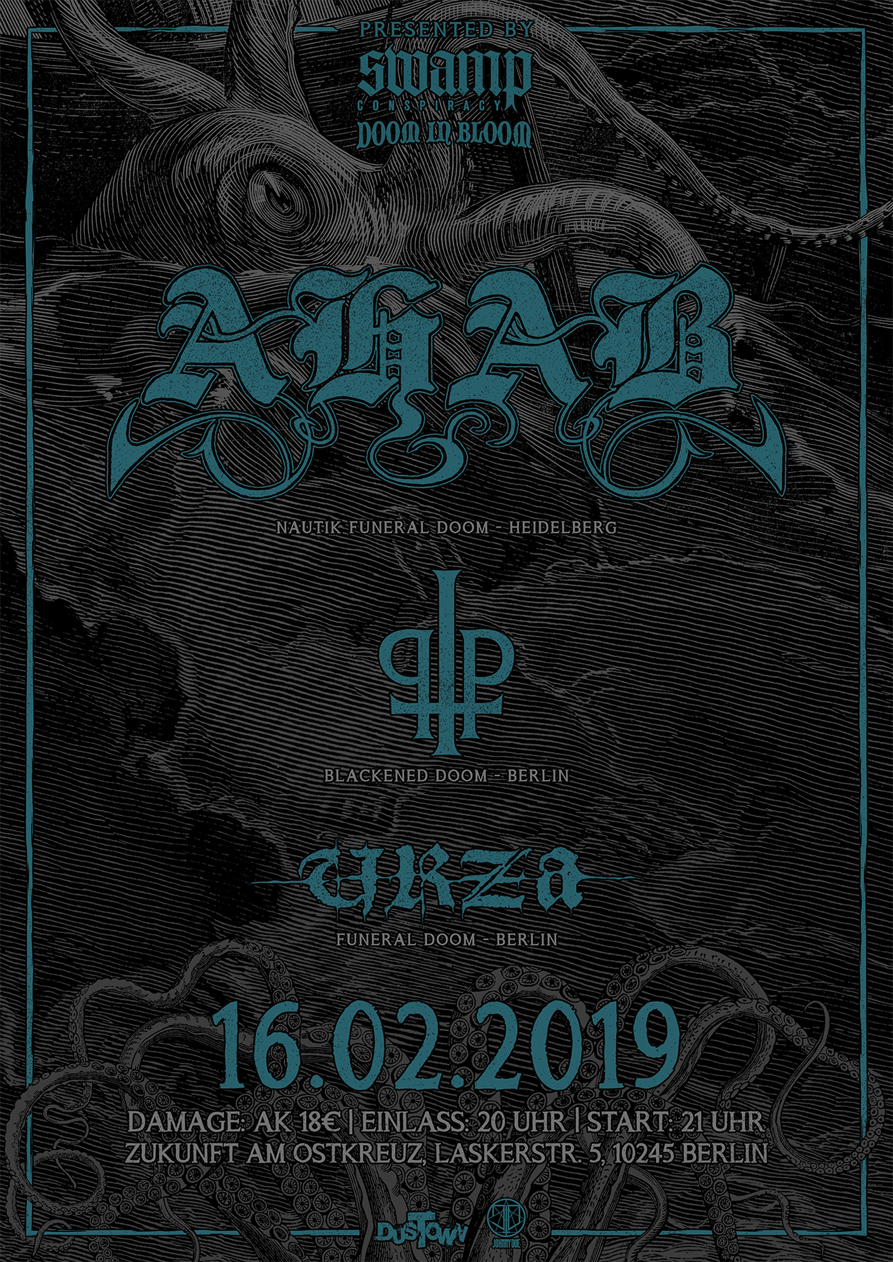AHAB_Praise the plague_Urza_Swamp Conspiracy_Doom in Bloom