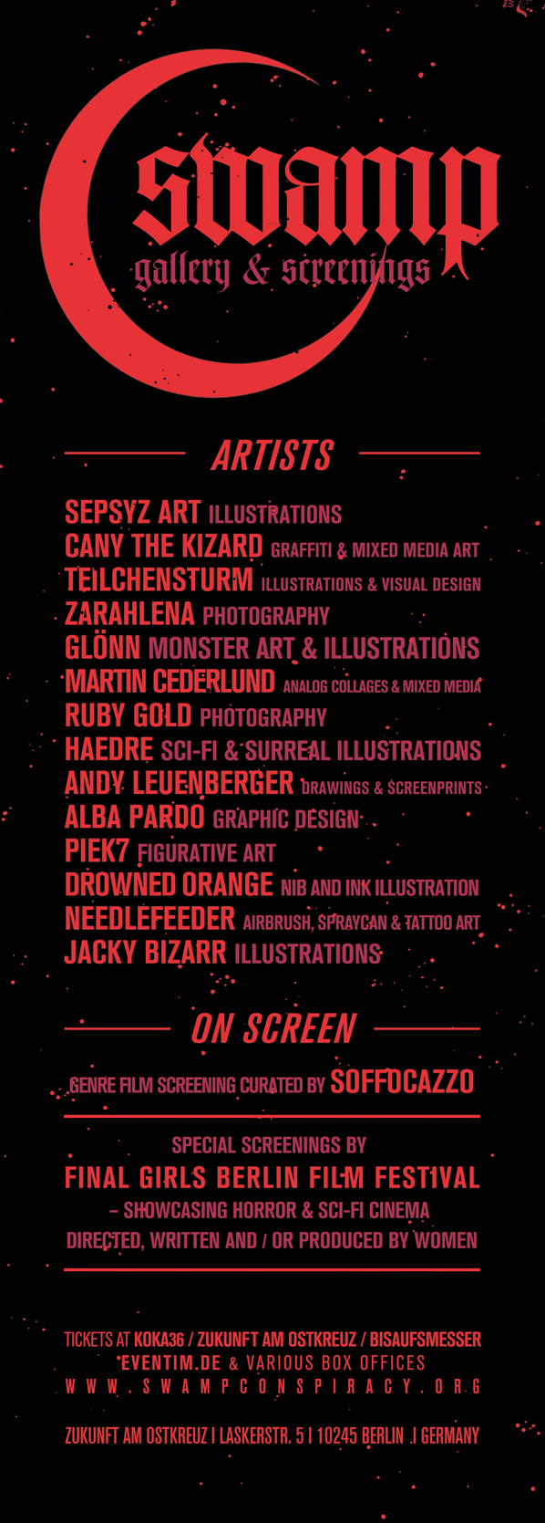 Berlin Swamp Fest Artists Screenings